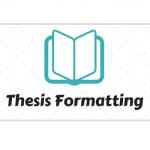 Thesis Formatting