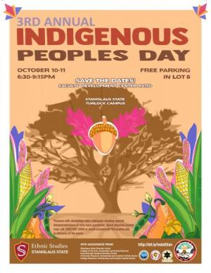 Indigenous people day poster
