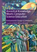 Ancestral Knowledge book cover with green and blue coloring