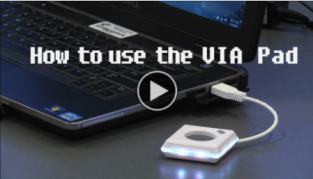How to connect with a VIA Pad video link