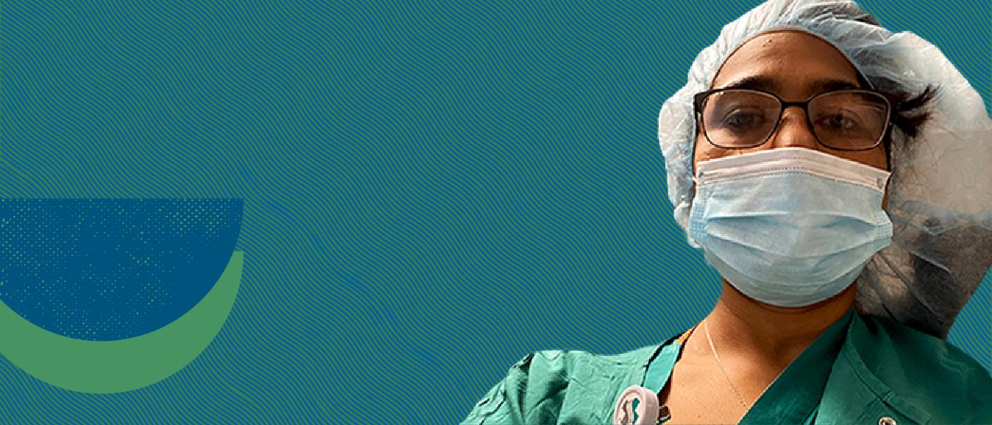 nursing student, Shaileni