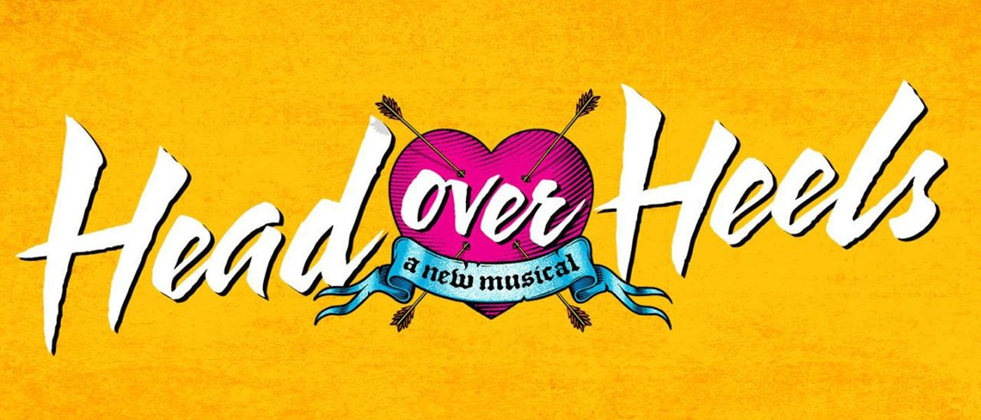 Cool Head Over Heels title graphic