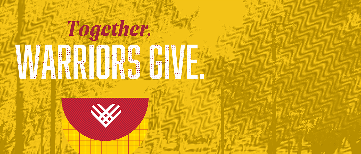Together, Warriors Give.