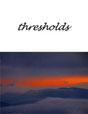 Thresholds Journal Cover