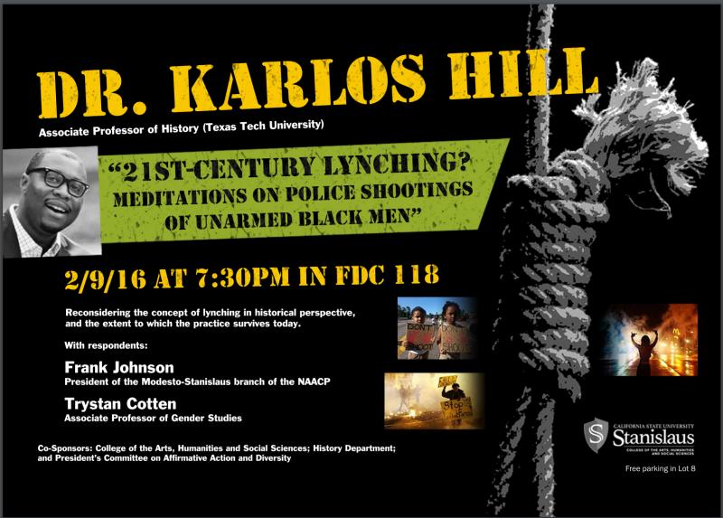 Dr. Karlos Hill