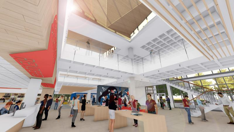 The Library Renovation