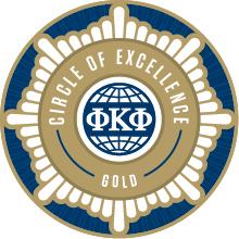 The Honor Society of Phi Kappa Phi Logo