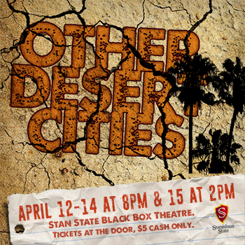 other desert cities play flyer