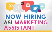 Hiring Marketing Assistant Flyer. Submit yours by Friday, April 13