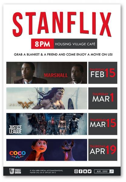 StanFlix Flyer