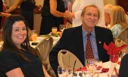 Barbara Glenn and Dr. Sheley