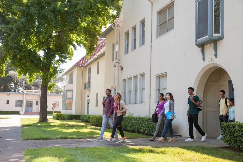 Stockton Campus Students