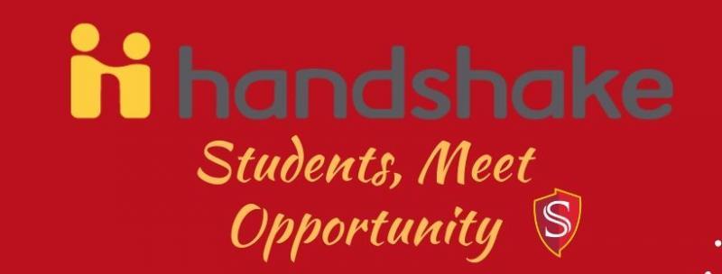 Handshake students opportunities
