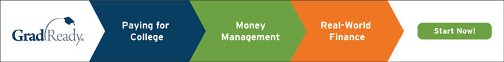 GradReady, paying for college, money management, real-world finance, start now