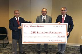 E & J Gallo Winery contribution check