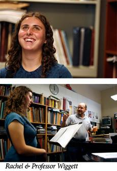 Music student Rachel Grider