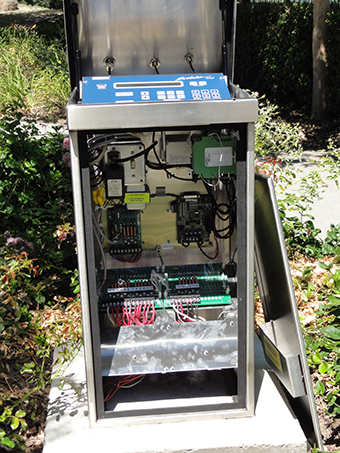 irrigation control station