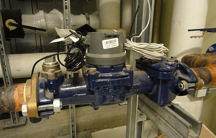water-flow meter